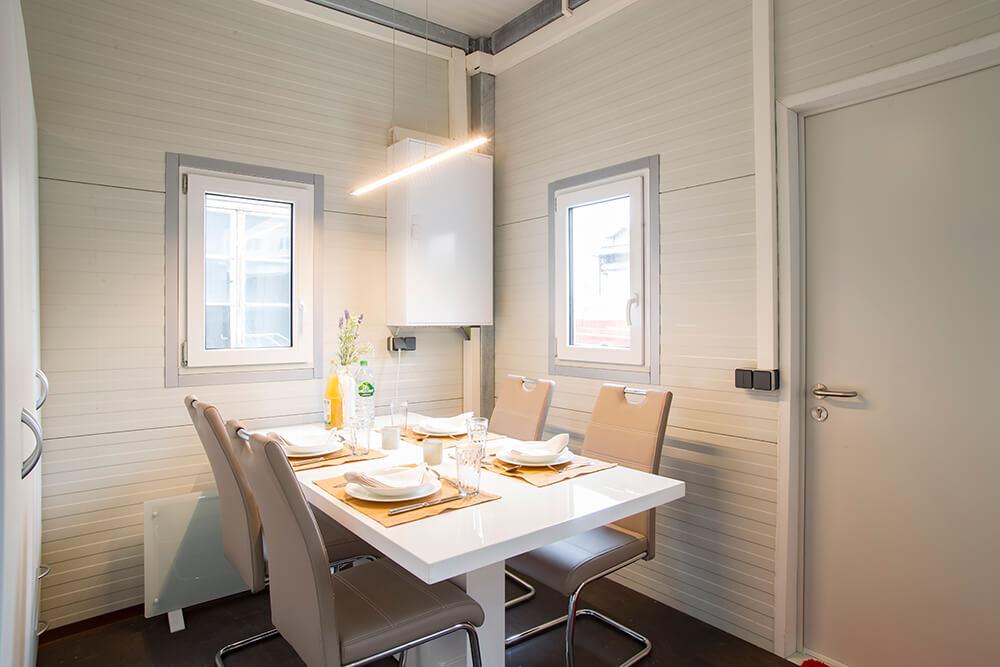 anschlussfertige wohncontainer kaufen panel sell. Black Bedroom Furniture Sets. Home Design Ideas